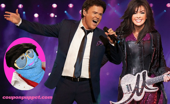 cheap donny and marie tickets from coupon puppet