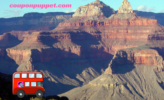 discount grand canyon day tour from coupon puppet