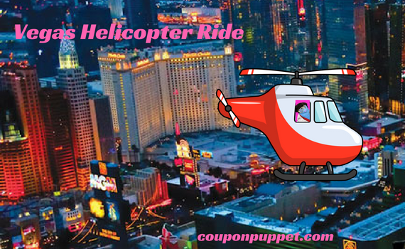 Vegas helicopter ride discount from Coupon Puppet
