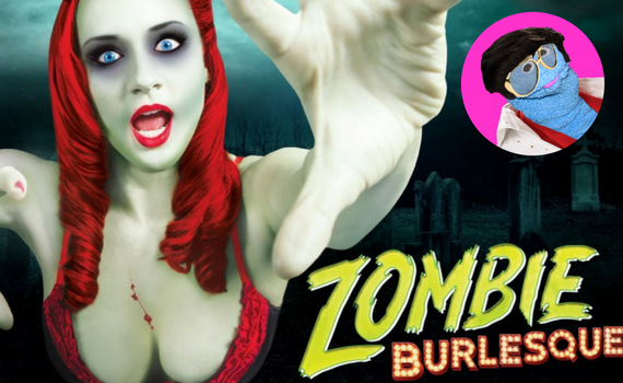 zombie burlesque discount from coupon puppet