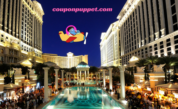 Caesars Palace deals from Coupon Puppet