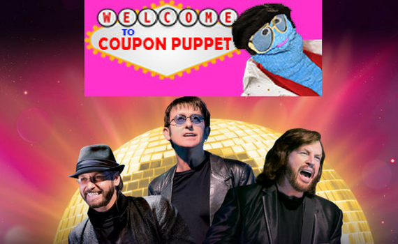 Australian Bee Gees Plus Buffet From Coupon Puppet