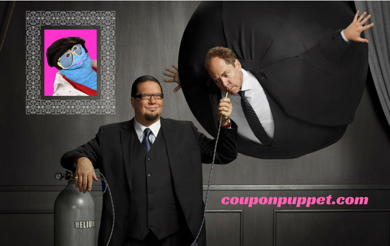 cheap Penn and Teller tickets from coupon puppet