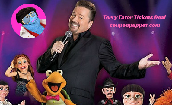 Terry Fator Tickets Deal From Coupon Puppet