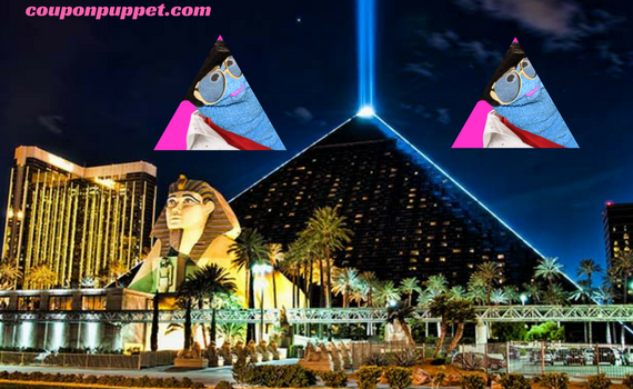 Luxor hotel Las Vegas deals from Coupon Puppet