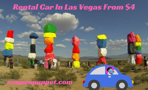 Get a rental car in Las Vegas with the Deal Of The Day from Coupon Puppet